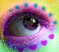 Eye2 - RAINBOW DREAMS by roannart