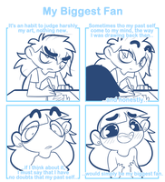 My Biggest Fan by SmokyJack