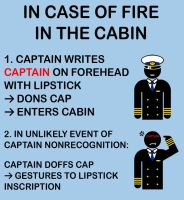T-shirt: Captain Dons Cap by valastaja