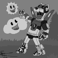 50's Voltron by Akorr