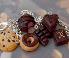 Chocoholic Bracelet by DeliciousTrickery