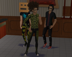 :Sims 2: Party rock! by White-Balverine
