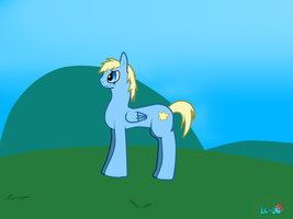 Luce-chan as a character from My Little Pony by JackFrost-LCDA