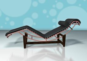 Le Corbusier Chaise Longue LC4 by gusti-boucher