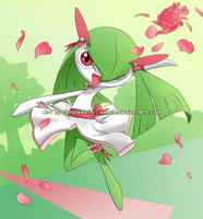 Kirlia by kancle