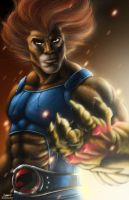 Lion-O Digital Painting by KYLE-CHANEY