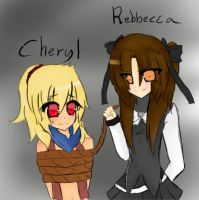 Cheryl and Rebbecca :GIFT: by JoannaMissy