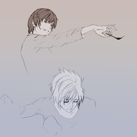 Death note skecth by ymymy