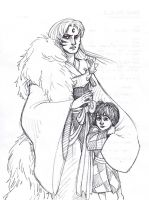 Sesshomaru's puppy by Lillooler