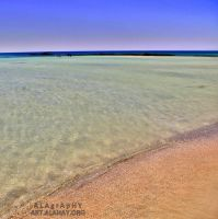 Pink Sand and Pink Horizon by alahay