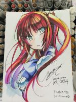 Anime expo - free markers by Zerion