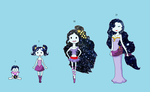 Galaxy Princess timeline by g86