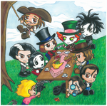 Johnny Depp tea party by Kasandra-Callalily