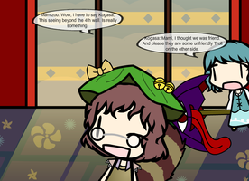 Mamizou look at 4th wall by PMiller1
