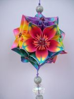 Kusudama Morning Dew 2 by sayako-arts