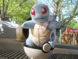 Squirtle Plush by Vulpes-Canis
