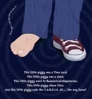 Dr. Who This Little Piggy by Lilliandil