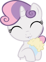 Sweetie Belle Milk shake by contreras19