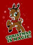 my little reindeer by briannacherrygarcia