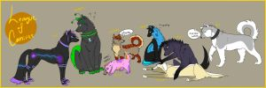 League of Canines by Eveeoni