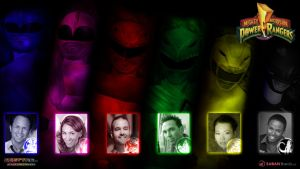 MMPR Season 1 and 2 Cast wallpaper by scottasl