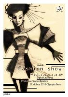 Poster Fashion show by Faffinette