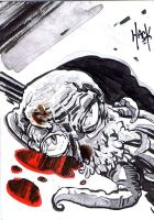 War of the Worlds sketchcard 14 by RobertHack