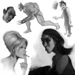 Sketches by mickehill