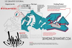 Simple Graffiti Tutorial by SikWidInk