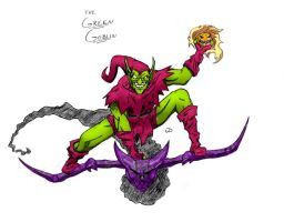 The Green Goblin by Jaebird88