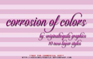 Corrosion of Colors Layer Styles by OriginalTequila