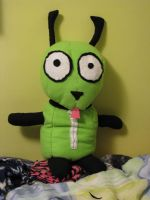 Gir Dog Costume Plushie by lunafox90