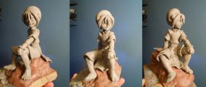 Toph sculpt in progress by b1938dc