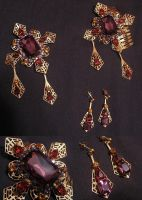 """""""Bordello"""" jewelry set by Space-Invader"""