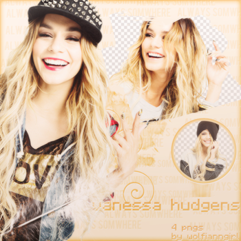 Vanessa  Hudgens Png Pack by WolfiannGirl