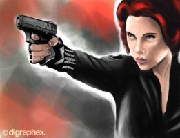 Black Widow - The Avengers (2012) by arhumn
