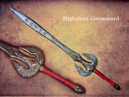 Highelven Greatsword Larp by BloodworxSander