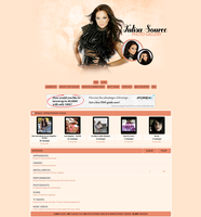 Tulisa Coppermine Theme by unbrokengraphics