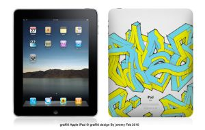 Graffiti iPad by melborn
