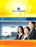 Bank of Commerce Annual Report by ellabanana