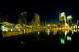 West Harbor Drive San Diego by Zalmero