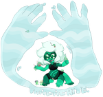 Malachite and Watermelons! by KenneDuck
