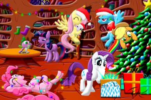 Merry Christmas everypony. by InternationalTCK