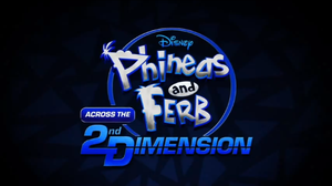 Across the 2nd Dimension logo by geraldCullenBlack