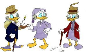 Scrooge McDuck- A Christmas Carol by Project-GAME