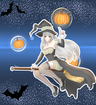 Halloween Witch Syndra by Archix1