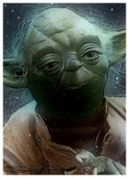Yoda Sketch Card 4 by RandySiplon
