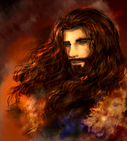 Thorin Oakenshield by Snii8D