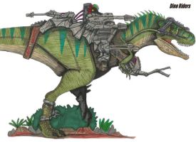Dino RidersT-rex by hellraptor by All-Crazy-Reptiles