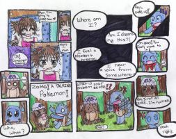 Pokemon Mystery Dungeon Comic by 565mae10